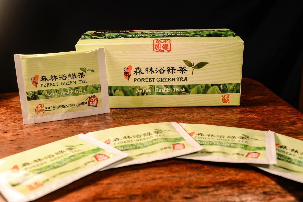 東傑綠茶包